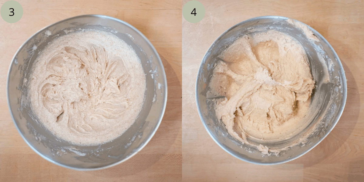 Step-be-step instructions to make   cupcakes.