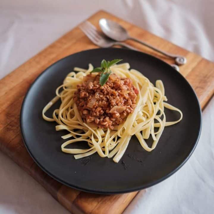 Vegan Bolognese Image