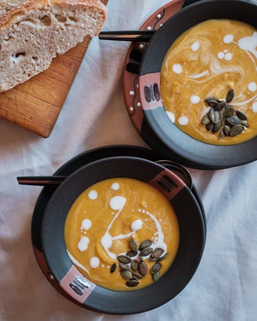 Butternut Soup flatlay image