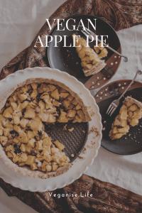 Vegan Apple Pie pin image