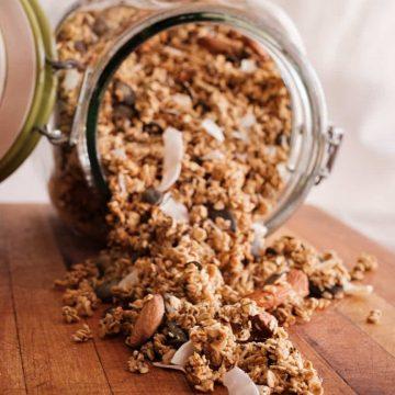 Vegan Oil-free Granola Image