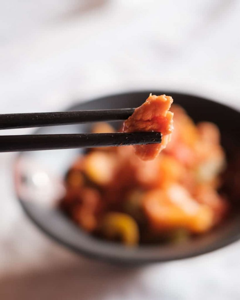 Sweet and sour soya Image